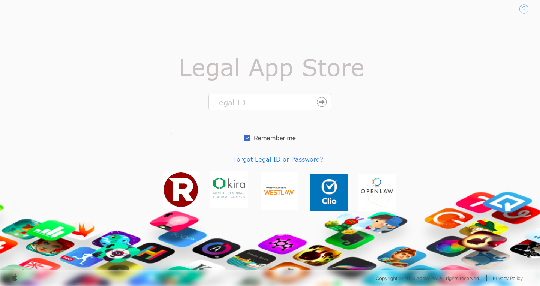 Legal App Store